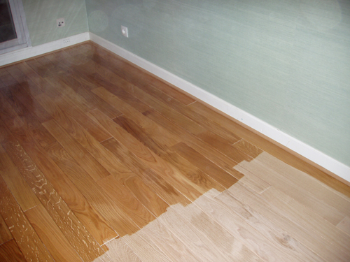 Vitrification parquet - Comment poncer un parquet ...
