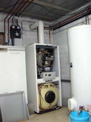 chaudiere circuit etanche ventilation