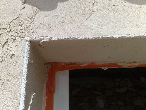 pose enduit façade isolation