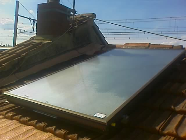 Chauffe-eau solaire circulation forcee