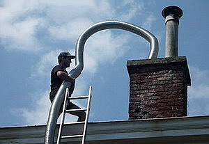 tubage conduit de cheminee