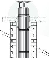 tuber conduit de cheminee